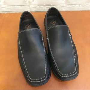 Men's Donald J Pliner Black Loafers Sz 9.5